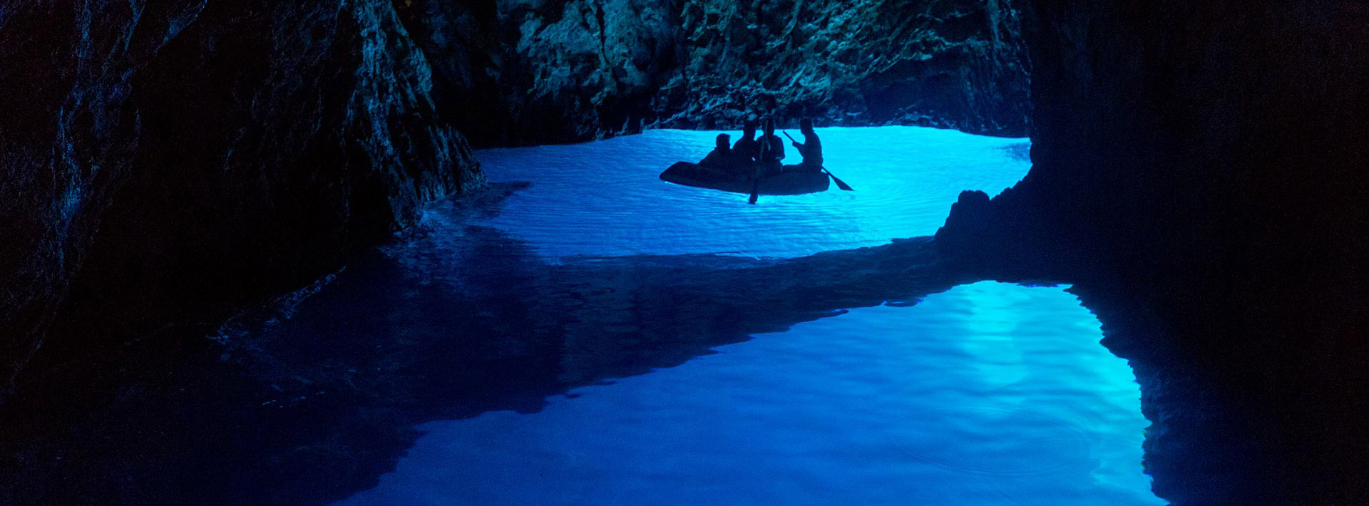Blue Cave Croatia, island Bisevo