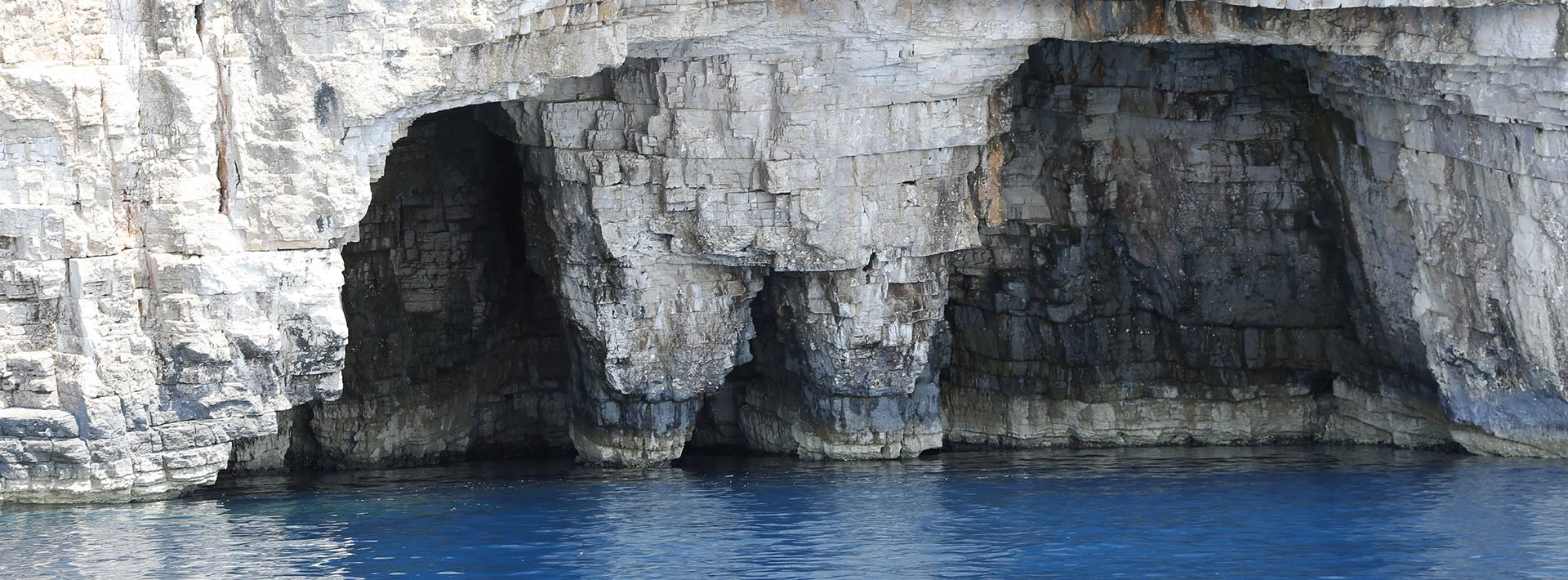 """Island Vis, rocky shore, """"The Pants"""", south side of the island"""