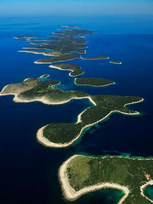 Pakleni Islands - aerial view
