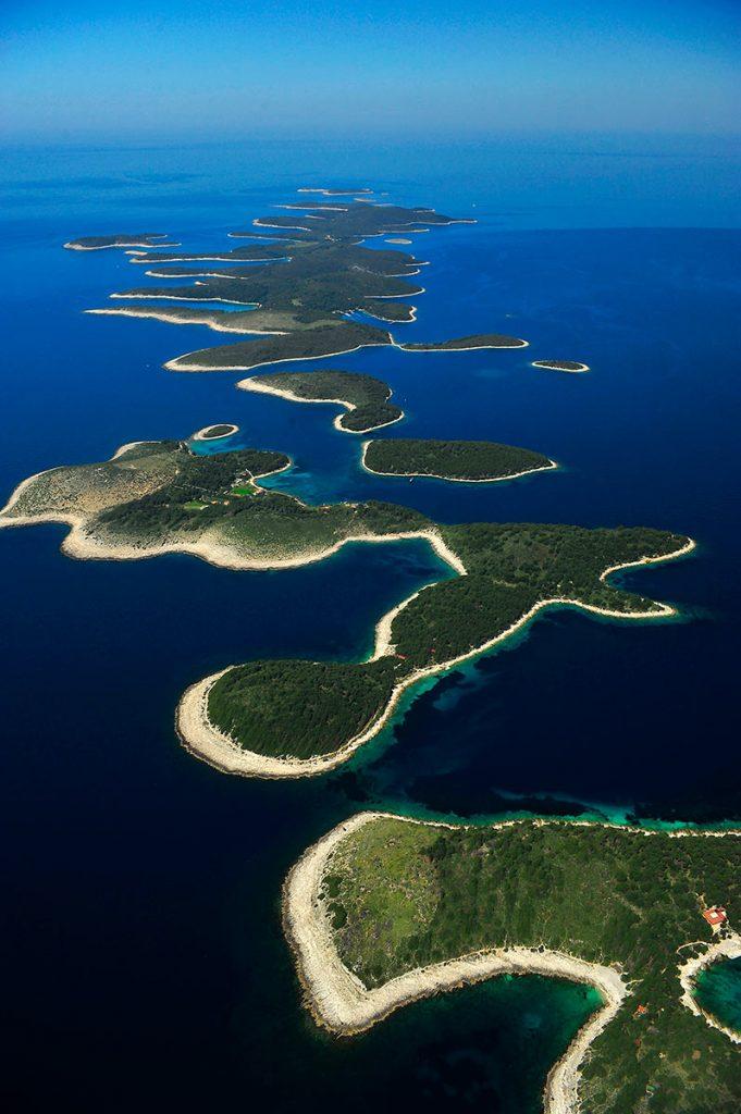 Pakleni Islands – aerial view