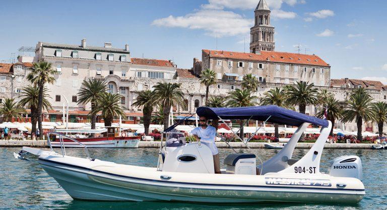 Speedboat transfers from Split