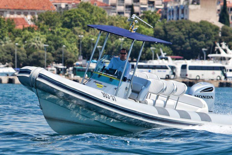 Split to Vis private speedboat tour