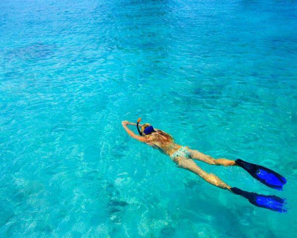 swimminginsideclearseaofbluelagooncroatia