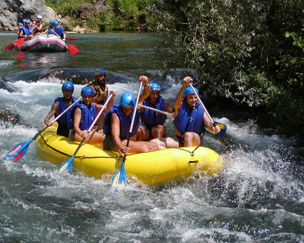 Rafting on Cetina river tour from Split