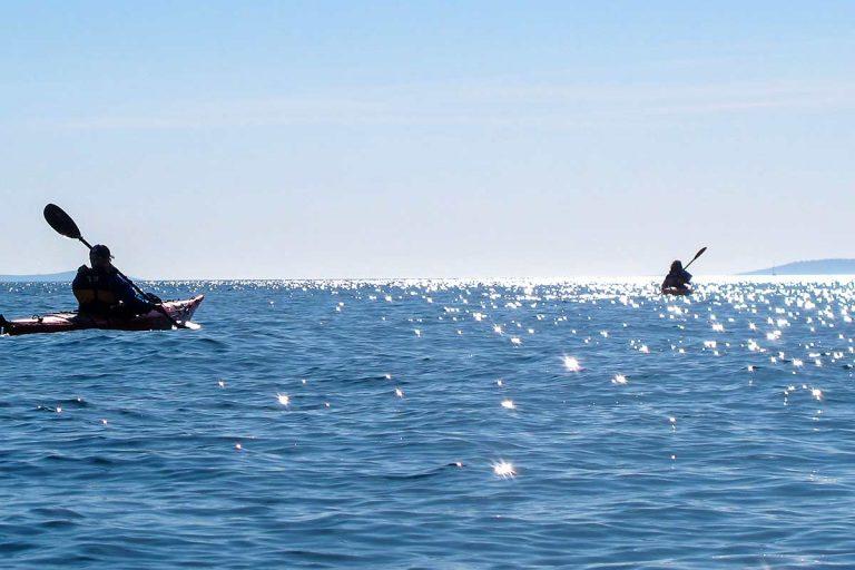 Kayaking tour from Split to Ciovo
