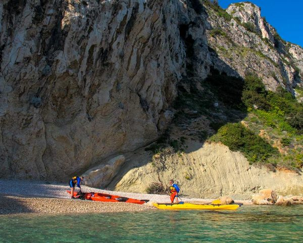 Enjoy Čiovo on adventure kayak tour