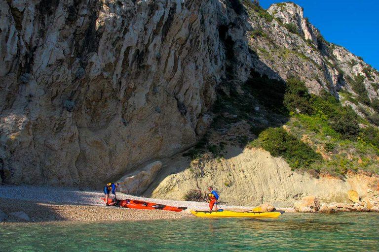 Enjoy Čiovo on adventure kayak tour