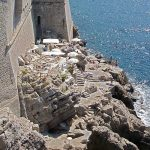 Caffee bar Buza on Walls of Dubrovnik