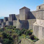 DubrovnikBastionsonmassiveCityWalls