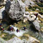 Finding a way through Cetina canyon