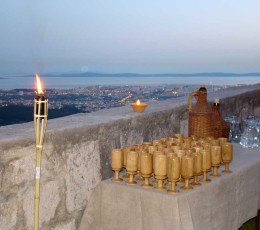 Game of Thrones Tour From Split - Klis fortress wiht view on Split