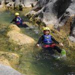 Gliding through Cetina river canyon
