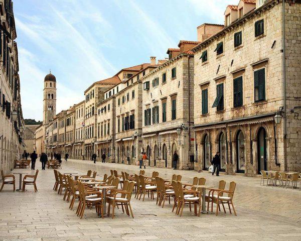Stradun, main street in Dubrovnik