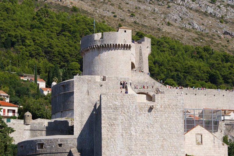Fortress on Dubrovnik walls