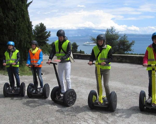 Photo Opportunity on Segway Tour in Split