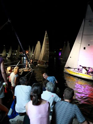 Night regatta private tour from Split-pequena regata nocturna