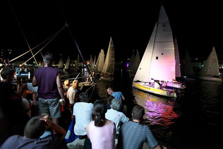 Night regatta private tour from Split-pequena regata nocturna