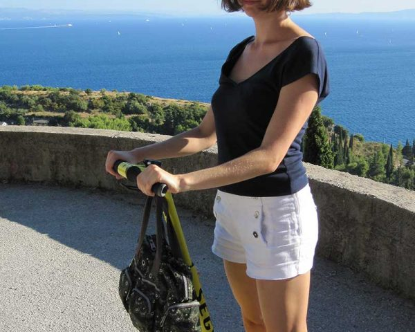 Segway Climbing the Marjan Hill