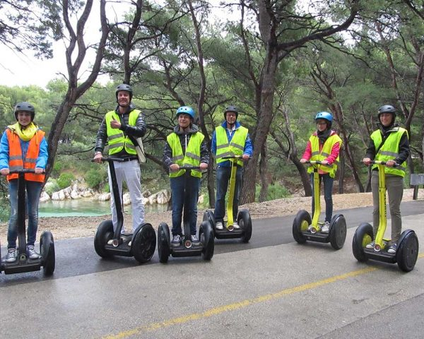 Segway on Marjan Split