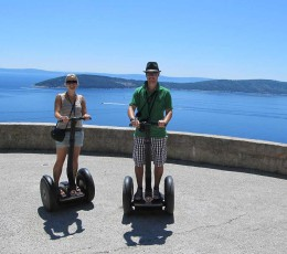 Segway Split - Ciovo in the back