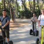 Segway Split on Marjan Point
