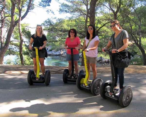 Segway tour on Marjan hill in Split