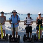 Start of the Segway Tour Split