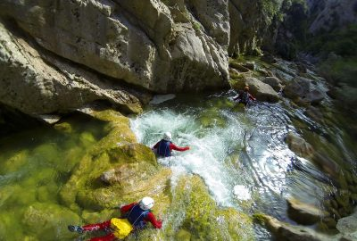 canyoning Cetina, outdoor adventure