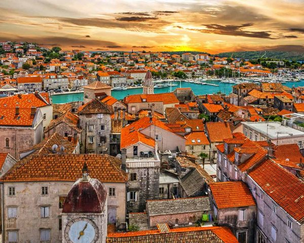 rooftops-of-Trogir-and-Ciovo-peninsula
