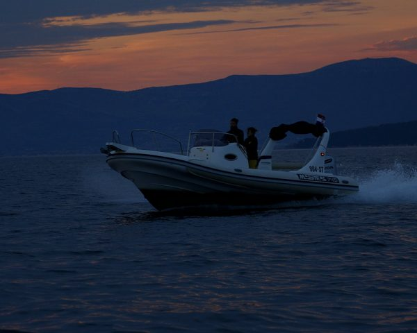 night of the shooting stars speedboat tour from Split