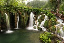 trail through Plitvice NP