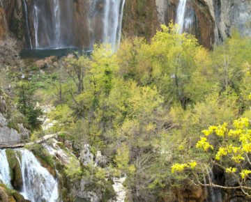 veliki slap, largest Croatian waterfall