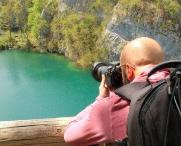taking panoramic photos