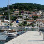Pučišća harbour