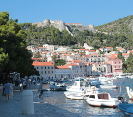 Fortica in the distance, Hvar
