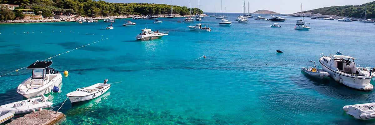 Island day trips from Split, speedboat adventures, day tours