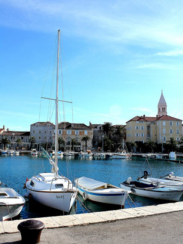 Supetar (harbour, island Brac)