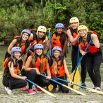 Getting ready for Cetina rafting