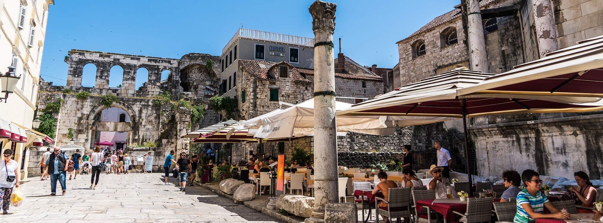 Find a parking in Split downtown