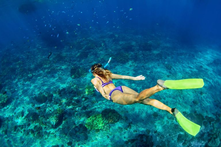 snorkeling-on-the-blue-cave-tour