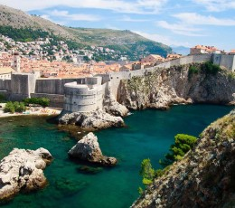 View on city walls, Dubrovnk