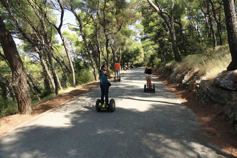 Segway tour Split on Marjan