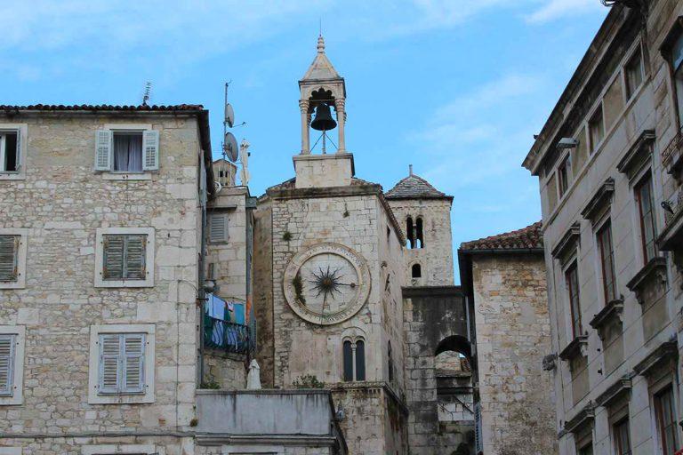 Splits city Clock Tower-Split Walking Tour