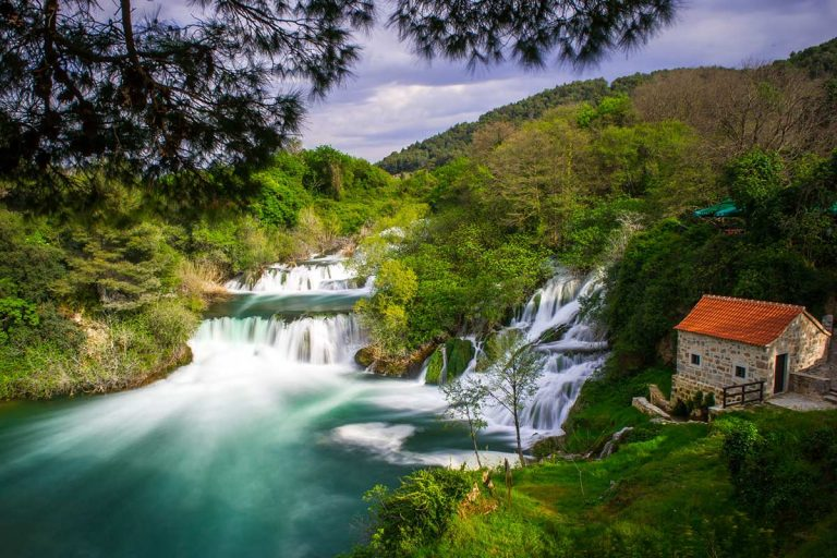 Watermill near Krka waterfalls