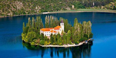 Visovac island, Krka national park