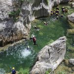 You can Jump from 4 meters at the end of kanyonig Cetina tour (optional)