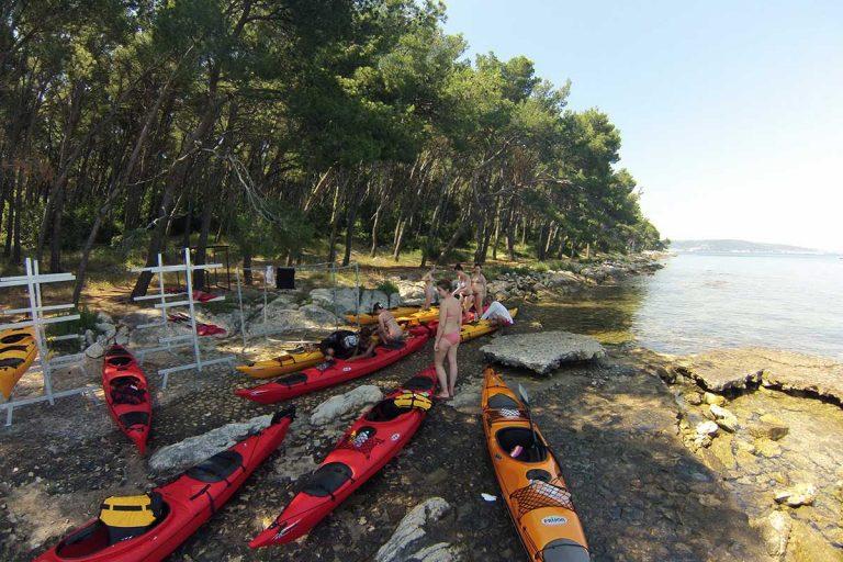 Marjan post of Sea Kayaking Tour