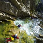 the canyoning tour from Split, Cetina canyon