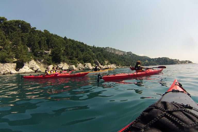 Kayaking tour Split