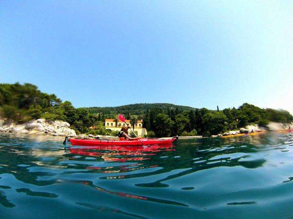 Kayak tour Split